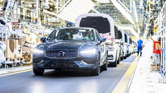 Volvo iklim nötr fabrika
