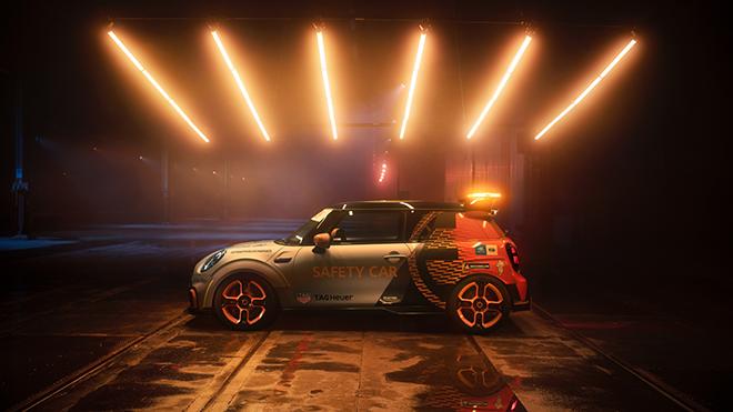 Formula E için yeni güvenlik aracı MINI Electric seçildi