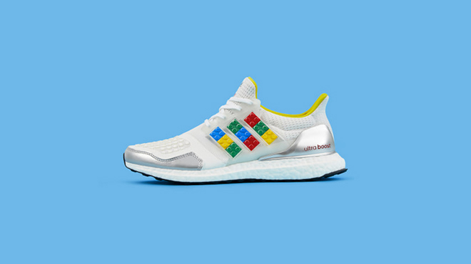 Adidas Ultraboost DNA X Lego Plates