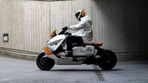 BMW imzalı bu elektrikli motosiklet