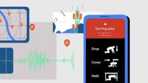 Google Android deprem ağı