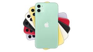 iPhone 11 akıllı telefon apple
