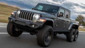 Jeep Gladiator 6x6