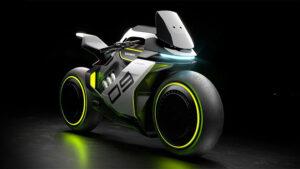 Segway hidrojen elektrikli motosiklet