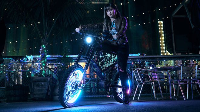 "Elektrikli bisiklet ""CyberX"""
