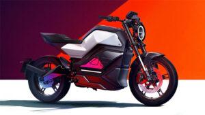 En güçlü NIU RQi elektrikli motosiklet