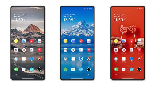 Xiaomi Mi Mix 4 ekran altı kamera