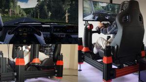 Yarış simülatörü konusunda bir sonraki seviye: Hareket Sistemleri