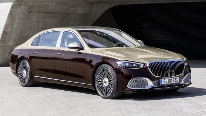 2021 Mercedes-Maybach S680