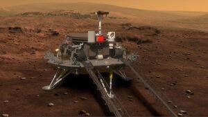 Çin Zhurong mars uzay