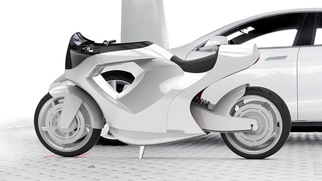 Elektrikli motosiklet konsepti Tesla Model M