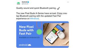 google pixel buds a kablosuz kulaklık