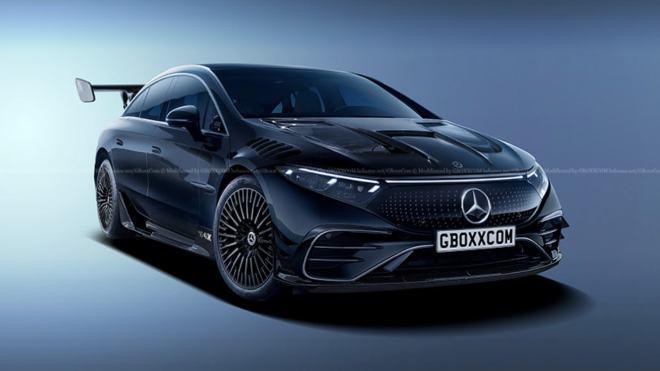 Mercedes EQS AMG