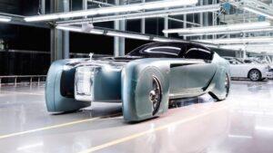 Rolls-Royce elektrikli otomobil