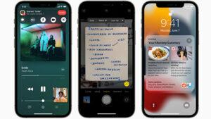 iOS 15 iOS 14