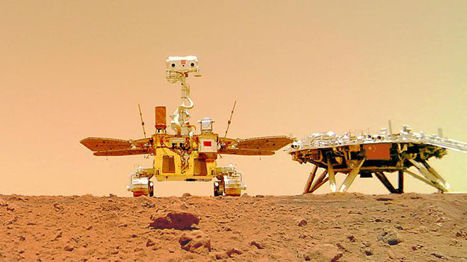 Çin Mars uzay aracı