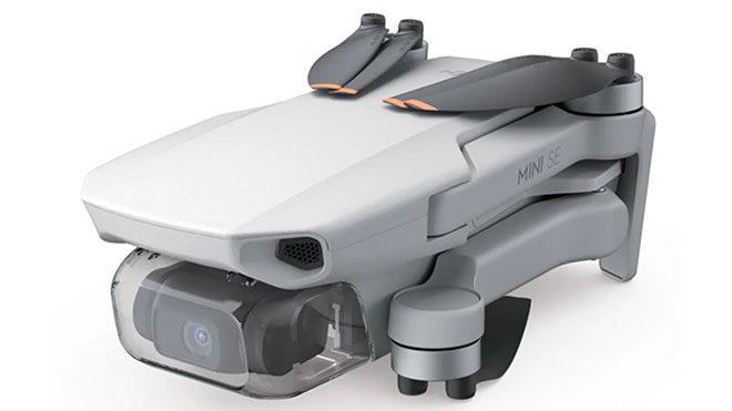 DJI Mini SE drone modeli
