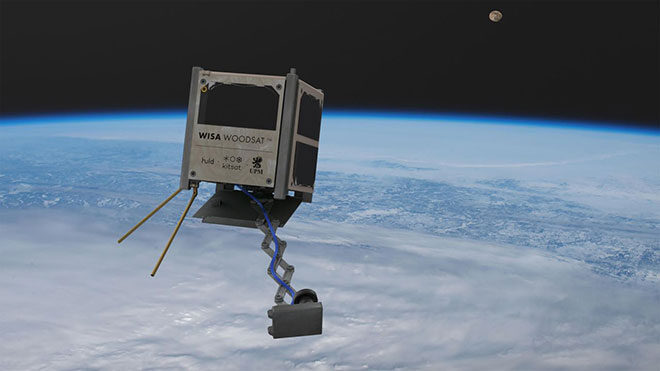 Dünyanın ilk ahşap gövdeli uydusu WISA Woodsat ile tanışın