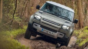 Land Rover Defender Fuel Cell