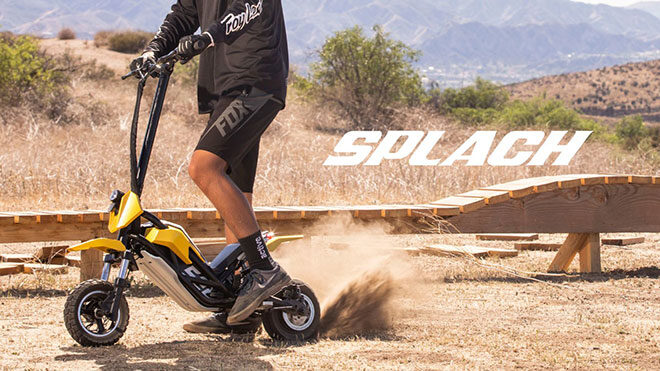 Splach Transformer elektrikli scooter