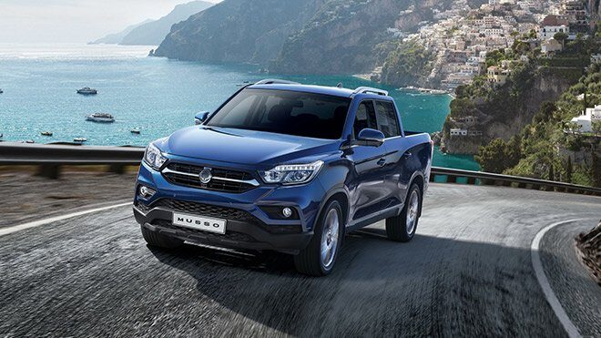 2021 SsangYong Musso Grand