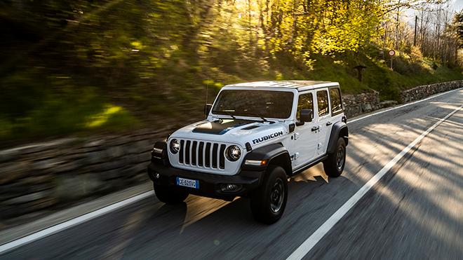 Elektriğin gücü yollara taşınıyor; Karşınızda Jeep Wrangler Plug-in Hibrit