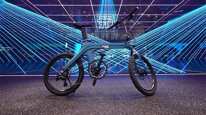 Katlanabilir elektrikli bisiklet Fiido X