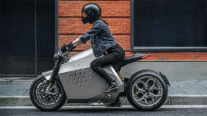 elektrikli motosiklet: Da Vinci DC100