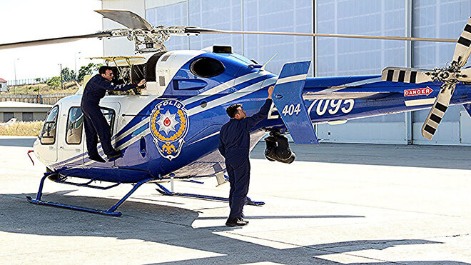 Trafik denetimleri sıklaştı; sürücüler helikopterler ile kontrol ediliyor