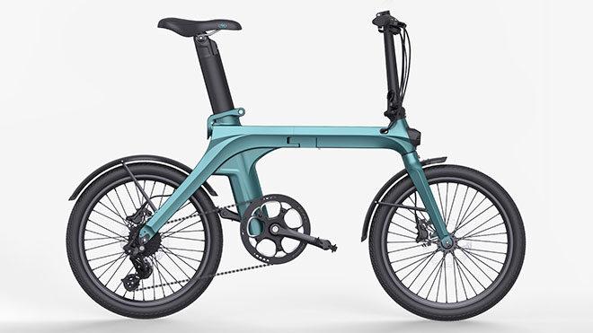 katlanabilir elektrikli bisiklet