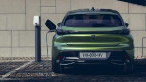 Peugeot elektrikli otomobil