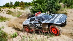 Dakar avcısı; Audi RS Q e-tron, testlerine başlıyor