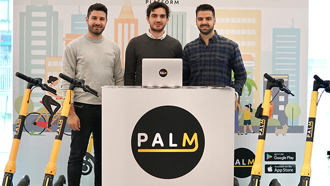 Palm scooter