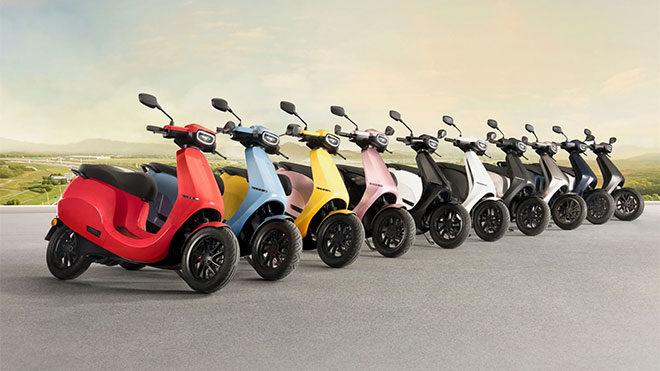 Elektrikli motosiklet modelleri Ola S1 ve S1 Pro