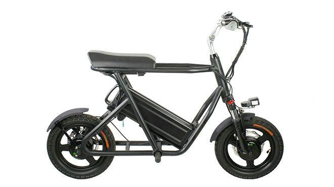 Görünüşü aldanmayı; gücüyle dikkat çeken elektrikli motosiklet