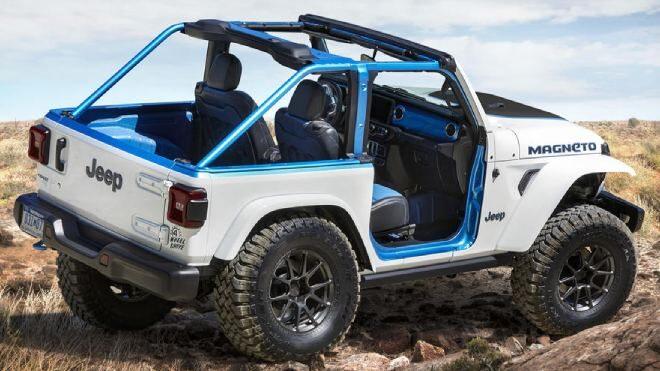 elektrikli Jeep