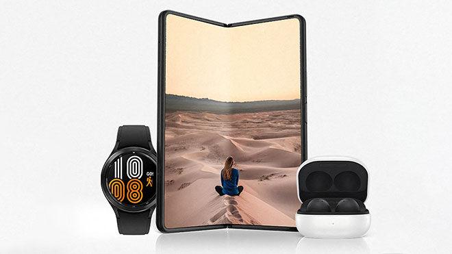Samsung Galaxy Z Fold3, Galaxy Z Flip3, Galaxy Buds2 ve Galaxy Watch4