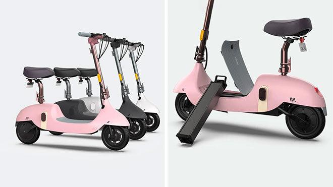 koltuklu elektrikli scooter