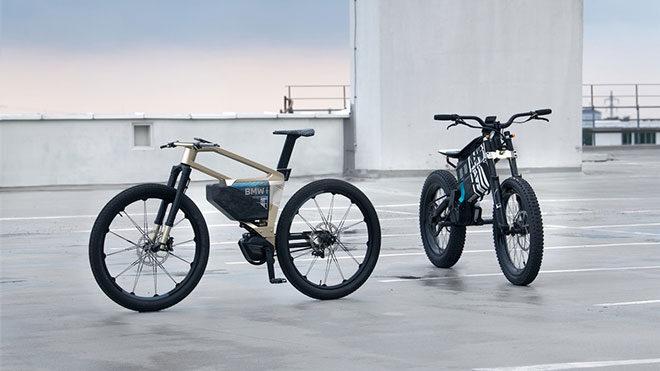 BMW imzalı elektrikli bisiklet ve elektrikli motosiklet modelleri