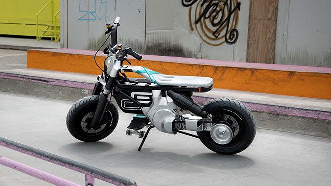 BMW CE 02 elektrikli motosiklet
