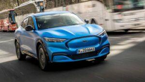 Tam Elektrikli Ford Mustang Mach-E cephesinden NCAP başarısı