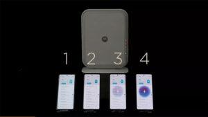 Motorola uzaktan kablosuz şarj sistemi