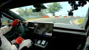 Tesla Model S Plaid, sınıfında Nürburgring
