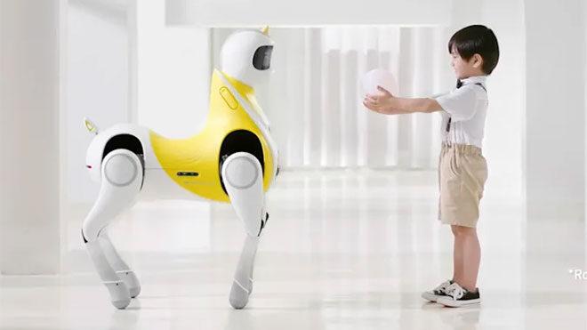 Xpeng, çocuklar için sürülebilir bir robot tek boynuzlu at tanıttı