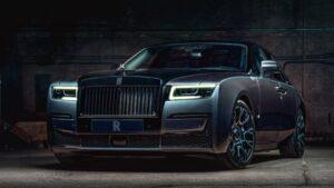 2022 Rolls Royce Ghost Black Badge