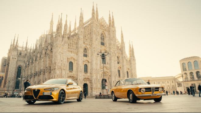 En görkemli sarı; Alfa Romeo Giulia ve Stelvio GT Junior tanıtıldı
