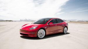 Tesla Model 3 Hertz