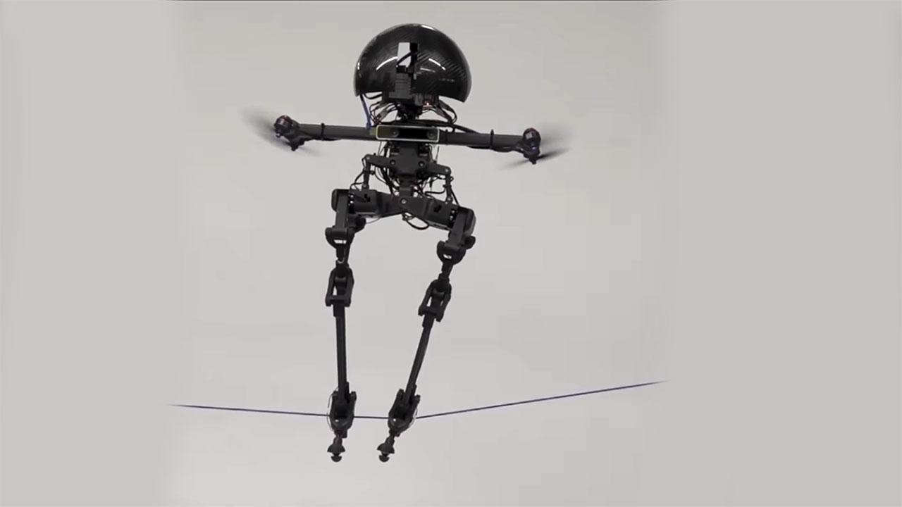Uçabilen İnsana Benzeyen Robot Leonardo