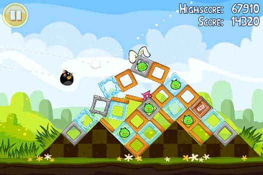 Angry Birds Seasons Paskalya