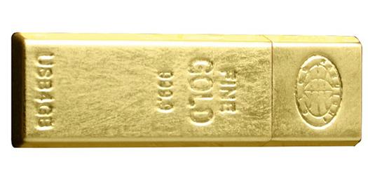 Altın kaplama USB bellek
